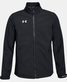 Boys' UA Hockey Softshell Jacket  2  Colors Available $85