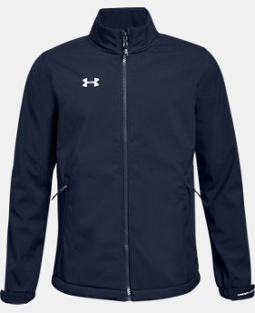 Boys' UA Hockey Softshell Jacket  2  Colors Available $100