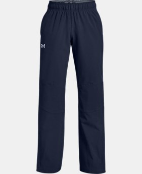 Boys' UA Hockey Warm-Up Pants  2  Colors Available $70
