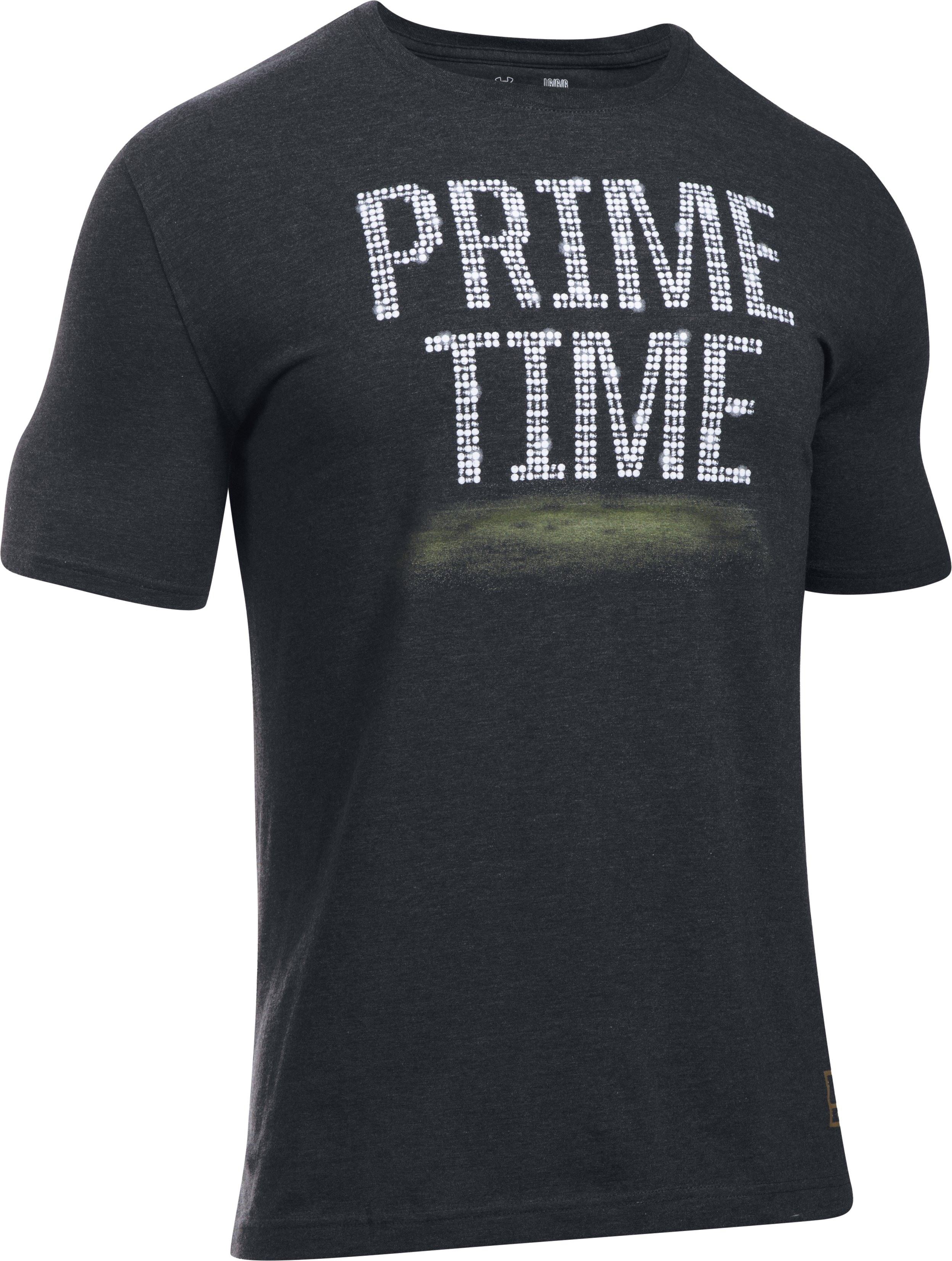 Men's UA Deion Prime Time T-Shirt, Black , undefined