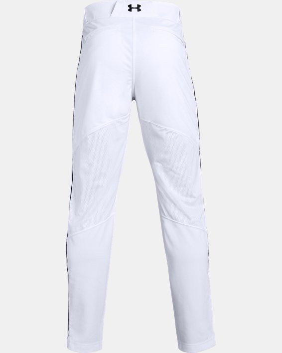 Men's UA Ace Relaxed Piped Baseball Pants, White, pdpMainDesktop image number 5