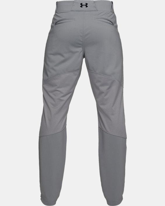 Men's UA Ace Relaxed Baseball Pants, Gray, pdpMainDesktop image number 5