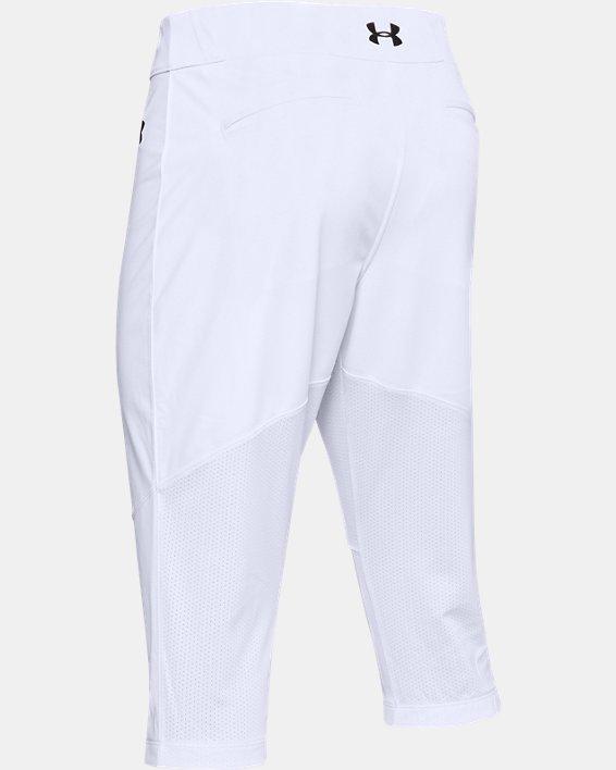 Men's UA Ace Knicker Pants, White, pdpMainDesktop image number 5