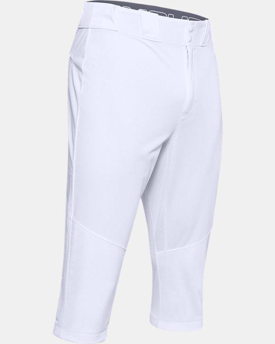 Men's UA Ace Knicker Pants, White, pdpMainDesktop image number 4