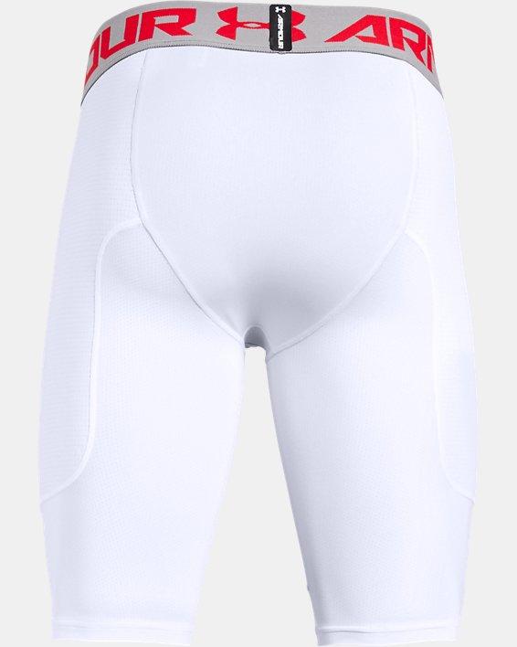 Men's UA Utility Slider Baseball Shorts, White, pdpMainDesktop image number 5