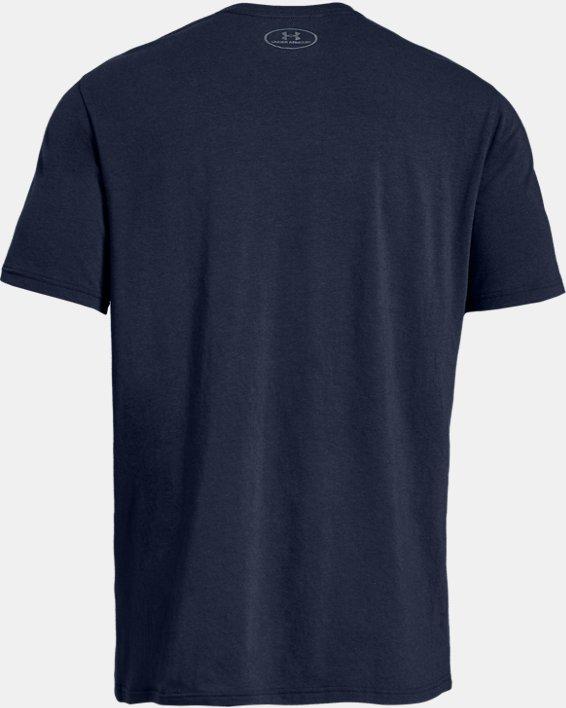 Men's UA Ready4Work Short Sleeve Shirt, Navy, pdpMainDesktop image number 4