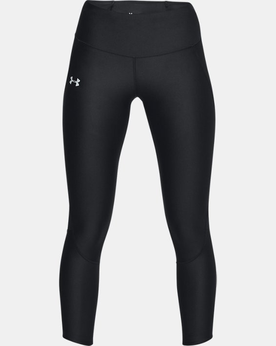 Women's UA Armour Fly Fast Crop, Black, pdpMainDesktop image number 3