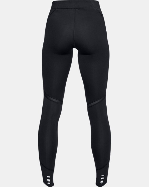 Women's ColdGear® Reactor Run Tights, Black, pdpMainDesktop image number 5