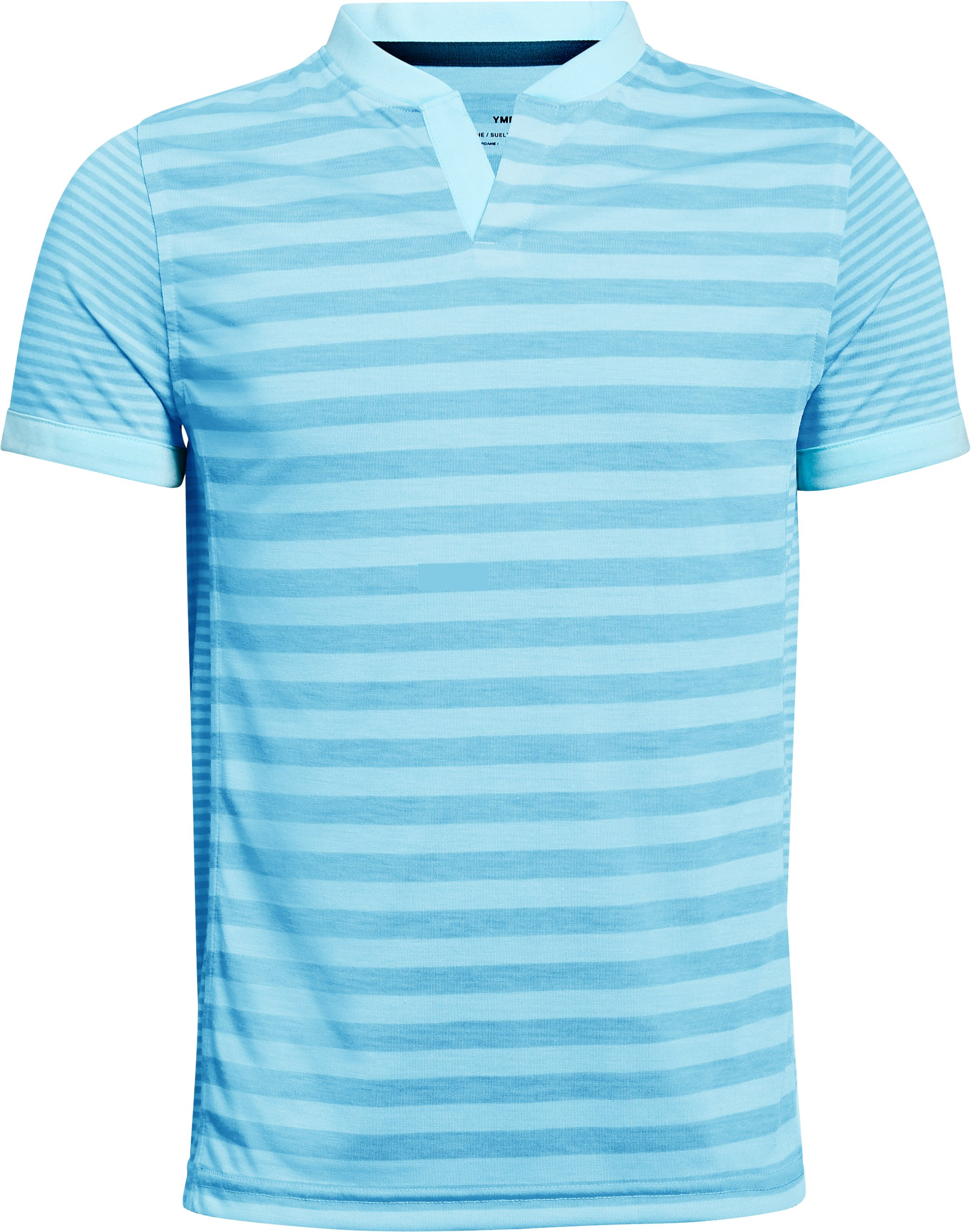 Boys' UA Threadborne Henley, Venetian Blue