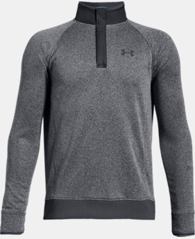New Arrival  Boys' UA Storm SweaterFleece ½ Snap  2  Colors Available $65