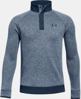 Boys' UA Storm SweaterFleece ½ Snap  4  Colors Available $55