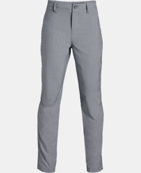 Boys' UA Match Play Tapered Golf Pants  2  Colors Available $65