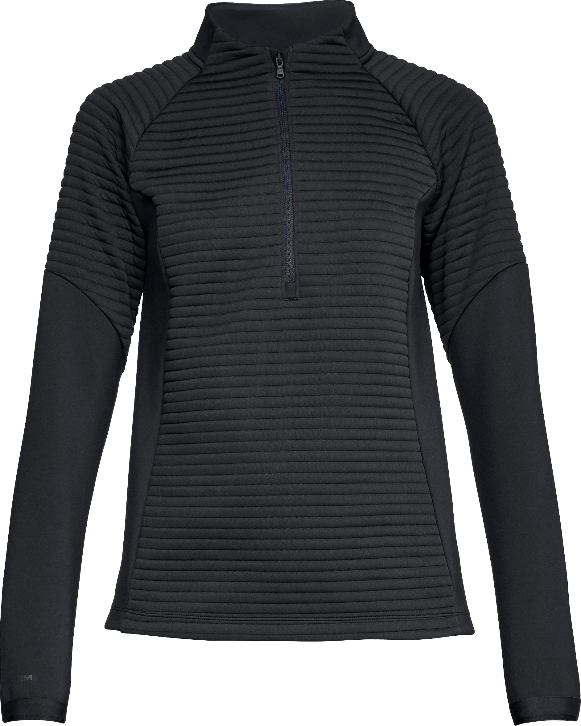 Women's UA Storm Daytona Versa ½ Zip, Black ,