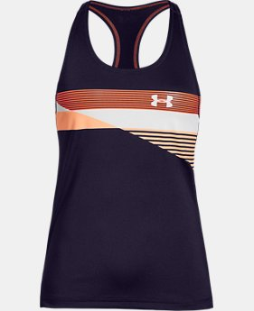 New Arrival  Girls' HeatGear® Armour Tank  2  Colors Available $30