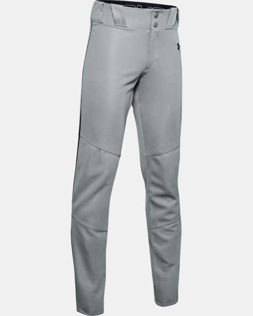 Boys' UA Ace Relaxed Piped Baseball Pants