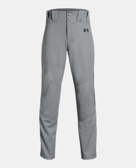 Boys  UA Utility Relaxed Piped Baseball Pants 8 Colors Available  30 d5ae6b533e