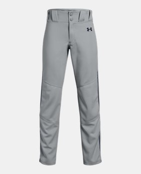 Boys  UA Utility Relaxed Piped Baseball Pants 8 Colors Available  30 55b7441482