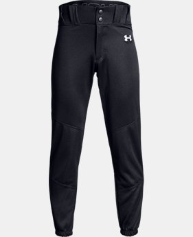 New Arrival Boys' UA Utility Relaxed Closed Baseball Pants  1  Color Available $25