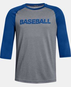 Boys' UA Bullpen ¾ Shirt  3  Colors Available $25