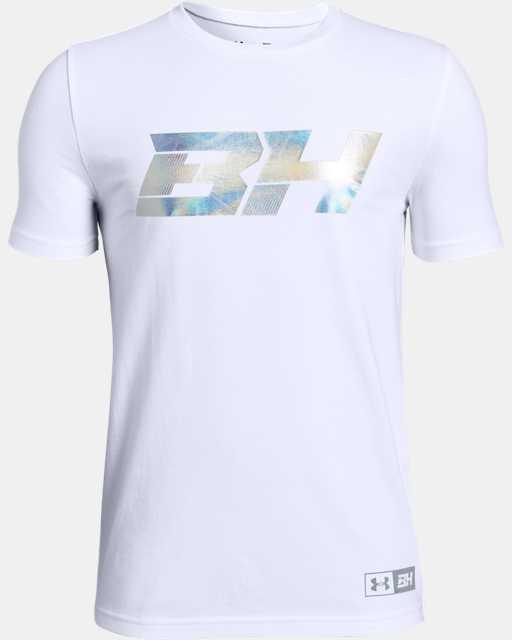 Boys' UA BH34 Icon Short Sleeve T-Shirt