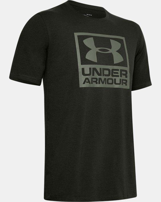 Men's UA Branded Short Sleeve, Green, pdpMainDesktop image number 4