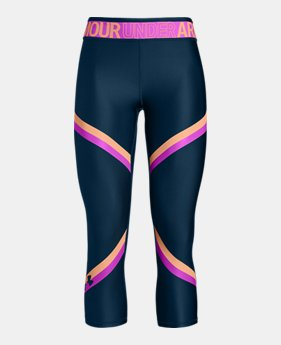0fc060a0b957f Girls  HeatGear® Armour Graphic Ankle Crop 1 Color Available  21