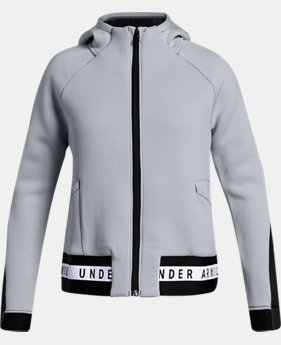 New Arrival Girls' UA Unstoppable /MOVE Full Zip  1  Color Available $80