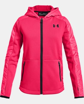 Girls' UA Swacket  2  Colors Available $100