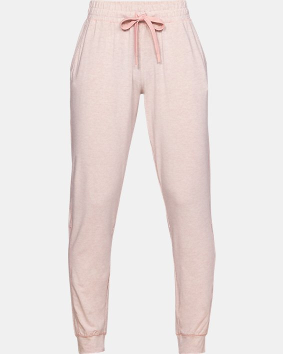 Women's UA RECOVER™ Sleepwear Ultra Comfort Pants, Pink, pdpMainDesktop image number 0