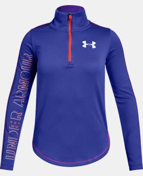 Girls' UA Tech™ ½ Zip  1  Color Available $35