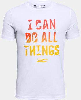 Boys' SC30 ICDAT Short Sleeve T-Shirt  1  Color Available $25