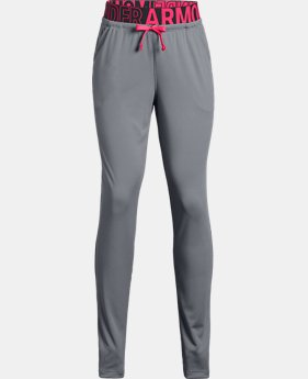 Girls' UA Tech™ Pants  1  Color Available $35