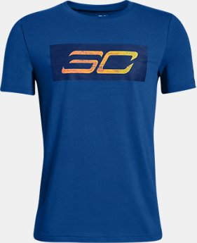 New Arrival Boys' SC30 Logo Short Sleeve T-Shirt  1  Color Available $25