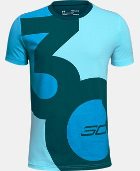 Boys' SC30 Big 30 Short Sleeve T-Shirt  1  Color Available $21
