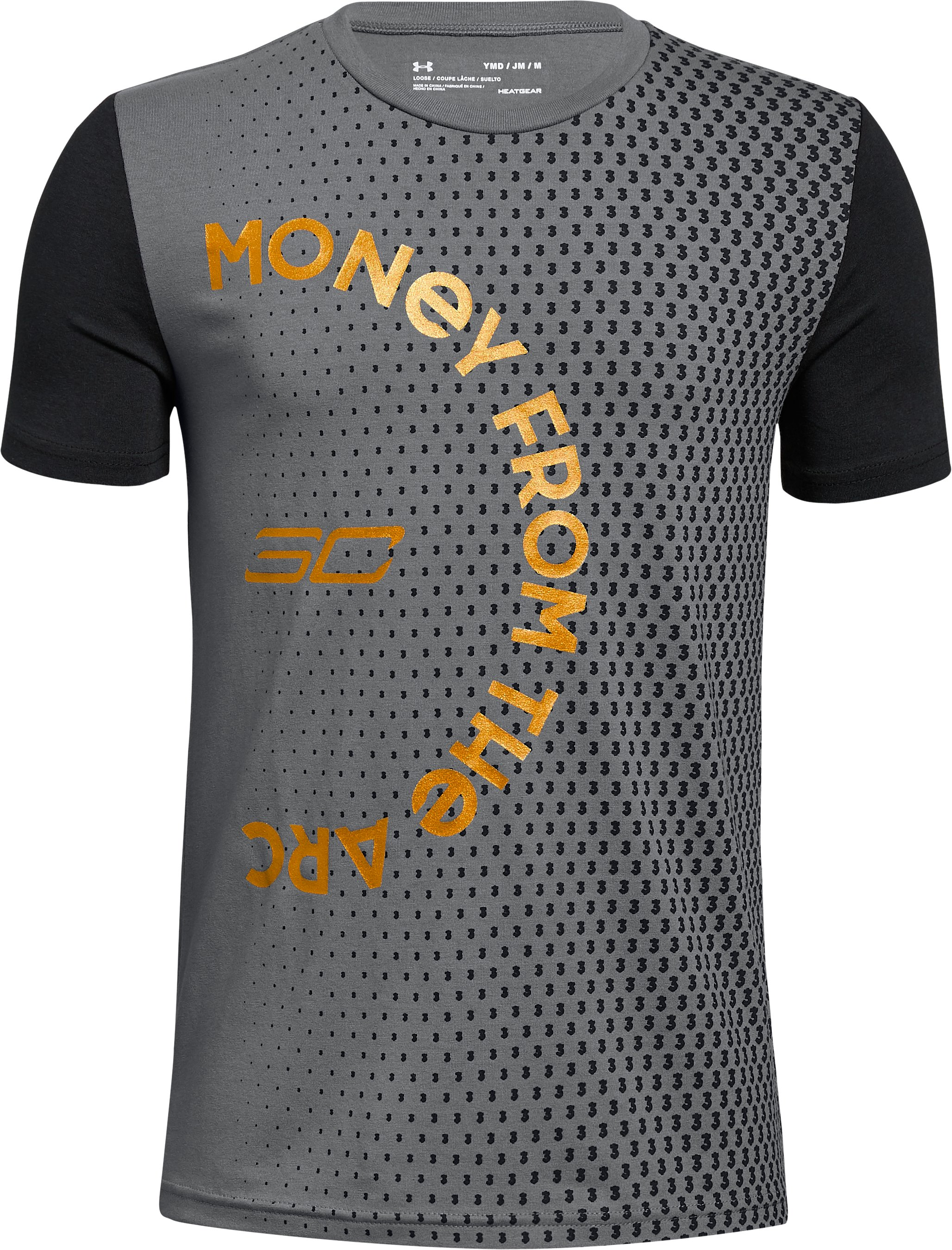 Boys' SC30 Money From The Arc Short Sleeve T-Shirt, Graphite