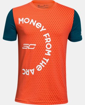 New Arrival Boys' SC30 Money From The Arc Short Sleeve T-Shirt  1  Color Available $28