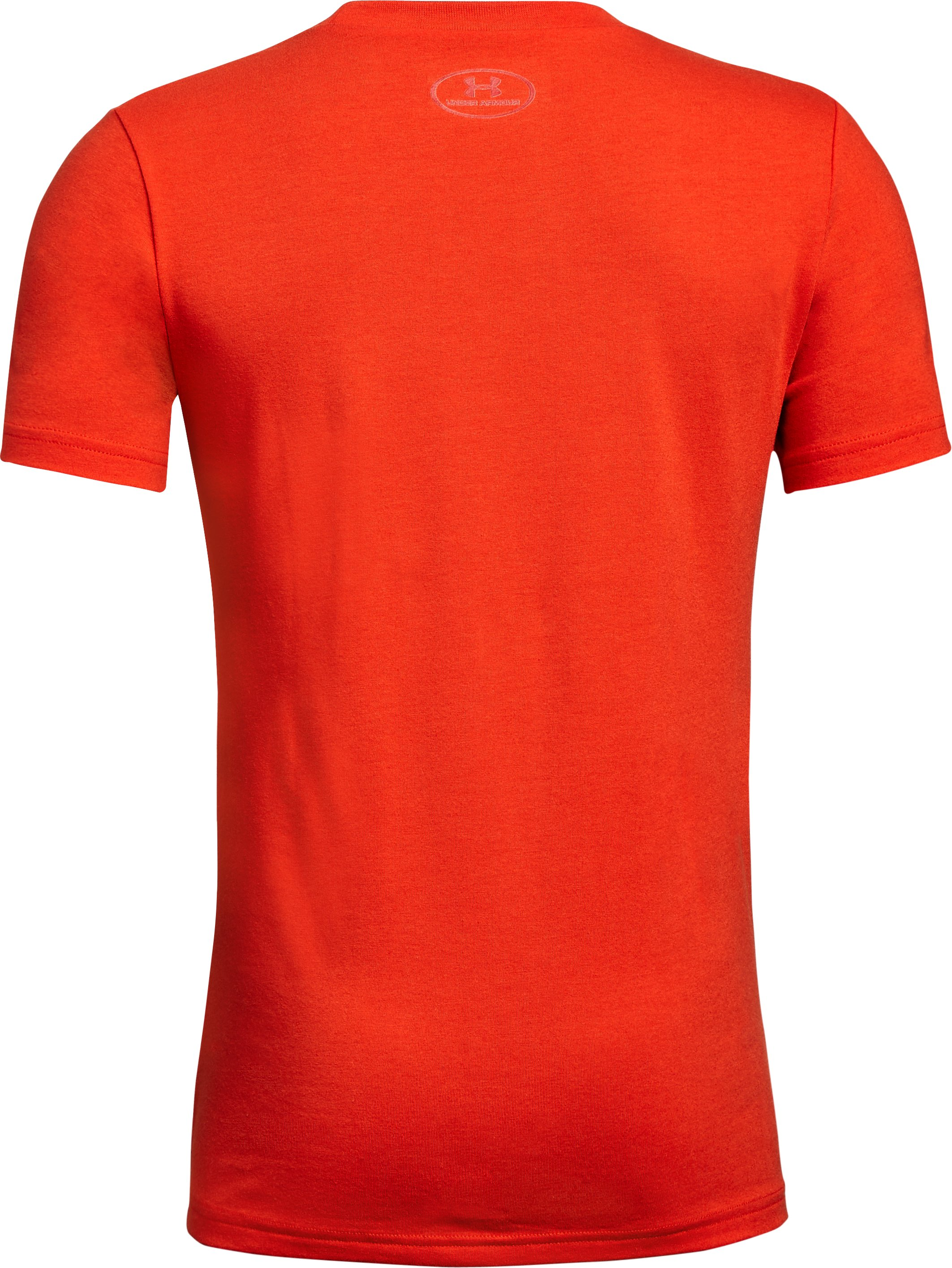 Boys' SC30 Proven Short Sleeve T-Shirt, RADIO RED,