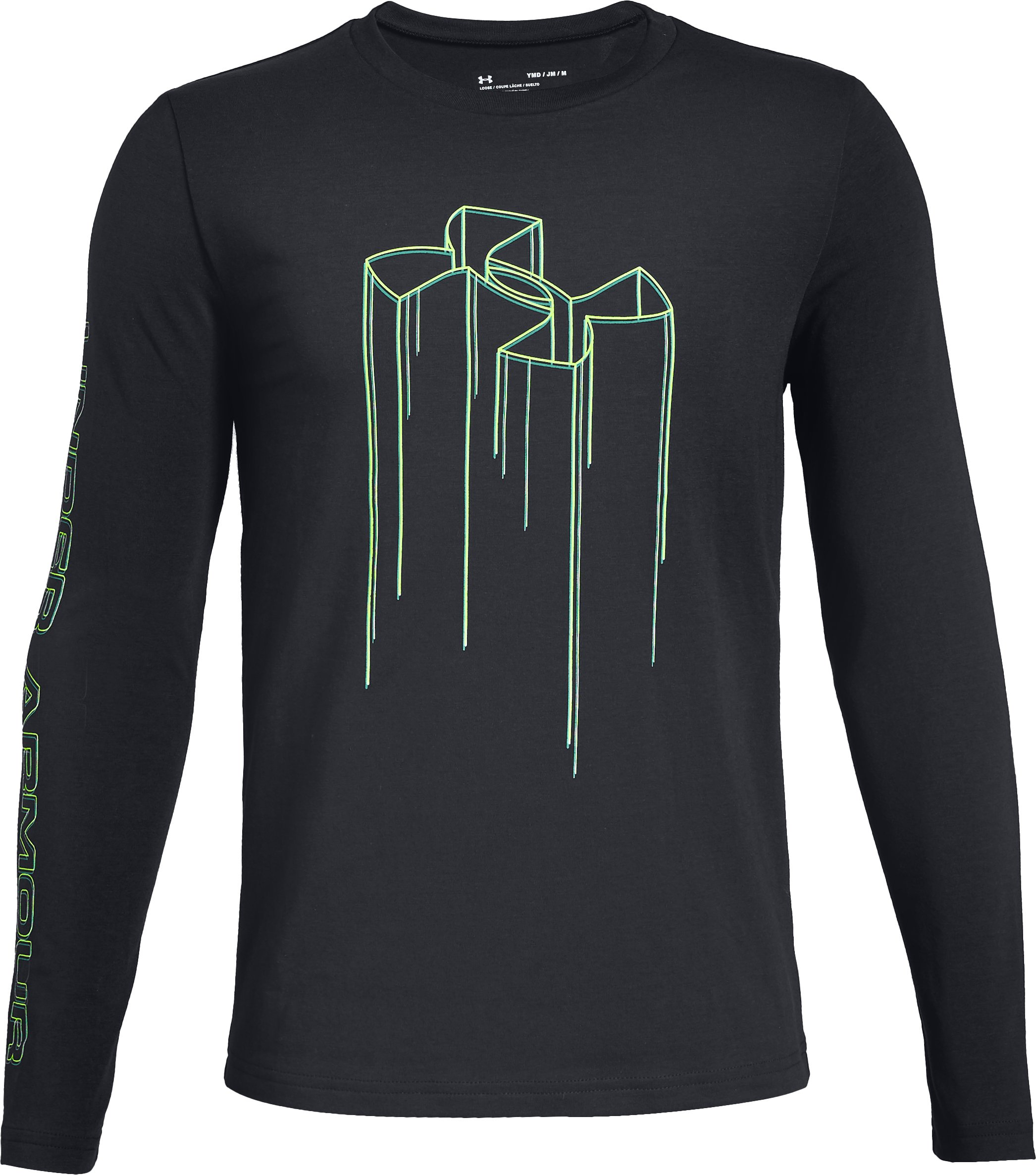 Boys' UA Electro Branded Long Sleeve T-Shirt 3 Colors $25.00