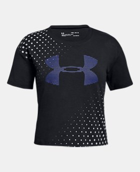 ddc5d4242e Girls' Outlet Kids (Size 8+) Short Sleeve Shirts | Under Armour CA