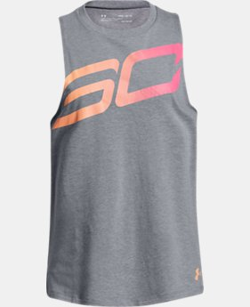 New Arrival  Girls' SC30 Big Logo Tank  2  Colors Available $30