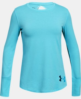 Girls UA Finale Long Sleeve  1  Color Available $22.5