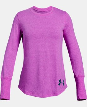 Girls UA Finale Long Sleeve  3  Colors Available $30