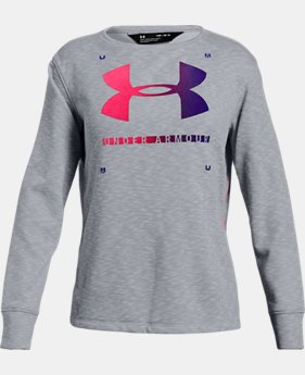 Girls' UA Finale Terry Crew  2  Colors Available $35