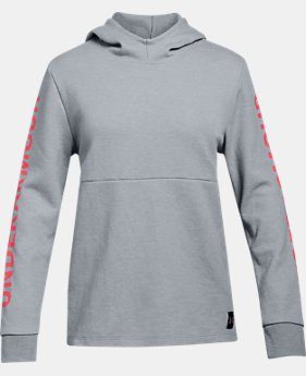 New Arrival Girls' UA Double Knit Hoodie  4  Colors Available $45