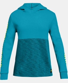 Girls' UA Double Knit Hoodie  4  Colors Available $45