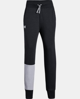 Girls' UA Unstoppable Double Knit Joggers  3  Colors Available $45