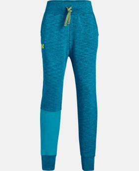 Girls' UA Unstoppable Double Knit Joggers  1  Color Available $38.25
