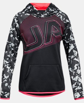 Girls' Armour Fleece® Big Logo Hoodie  4  Colors Available $45