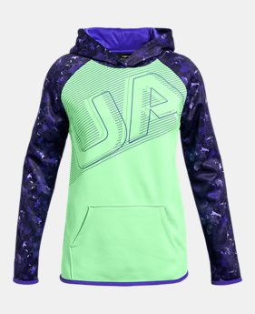 f0d5880d4 New to Outlet Girls' Armour Fleece® Big Logo Hoodie 2 FOR $50 1 Color. 1  Color Available