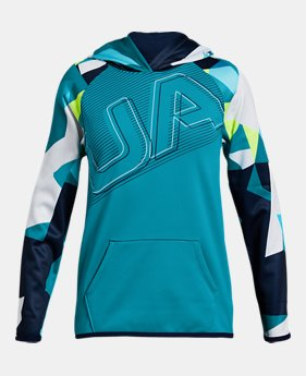 Girls  Armour Fleece® Big Logo Hoodie 2 FOR  50 4 Colors Available  27 to ca6355225d6a